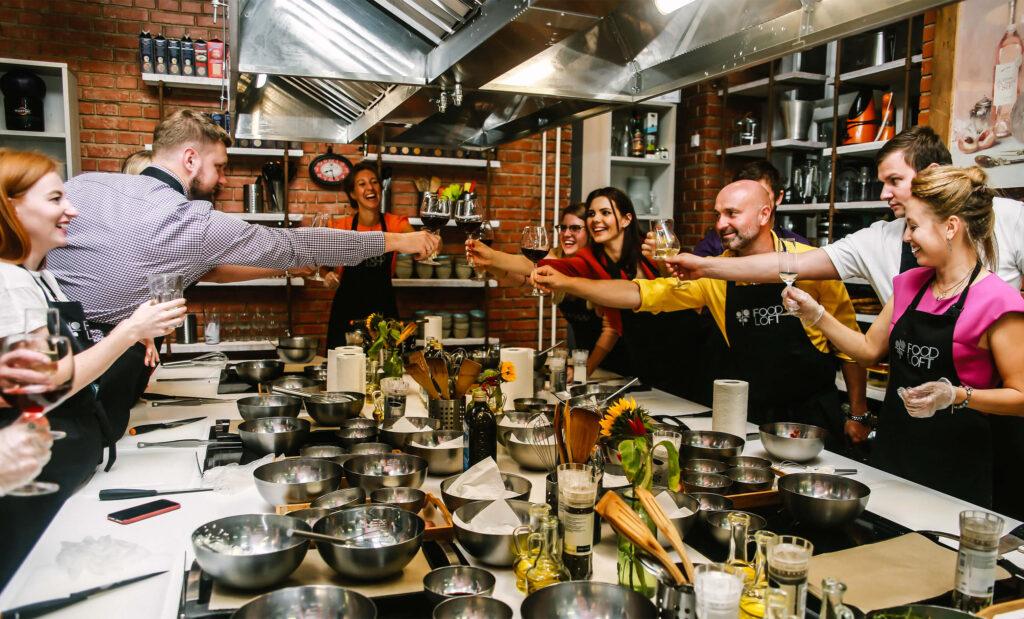Кулинарные мастер-классы на день рождения